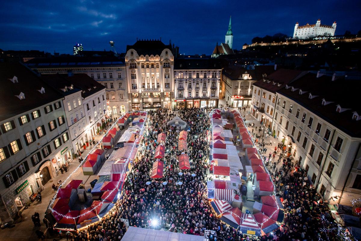 V piatok sa začína Vianočná Bratislava