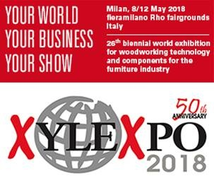 Drevársky Veľtrh XYLEXPO - Miláno, 8. - 12.5.2018