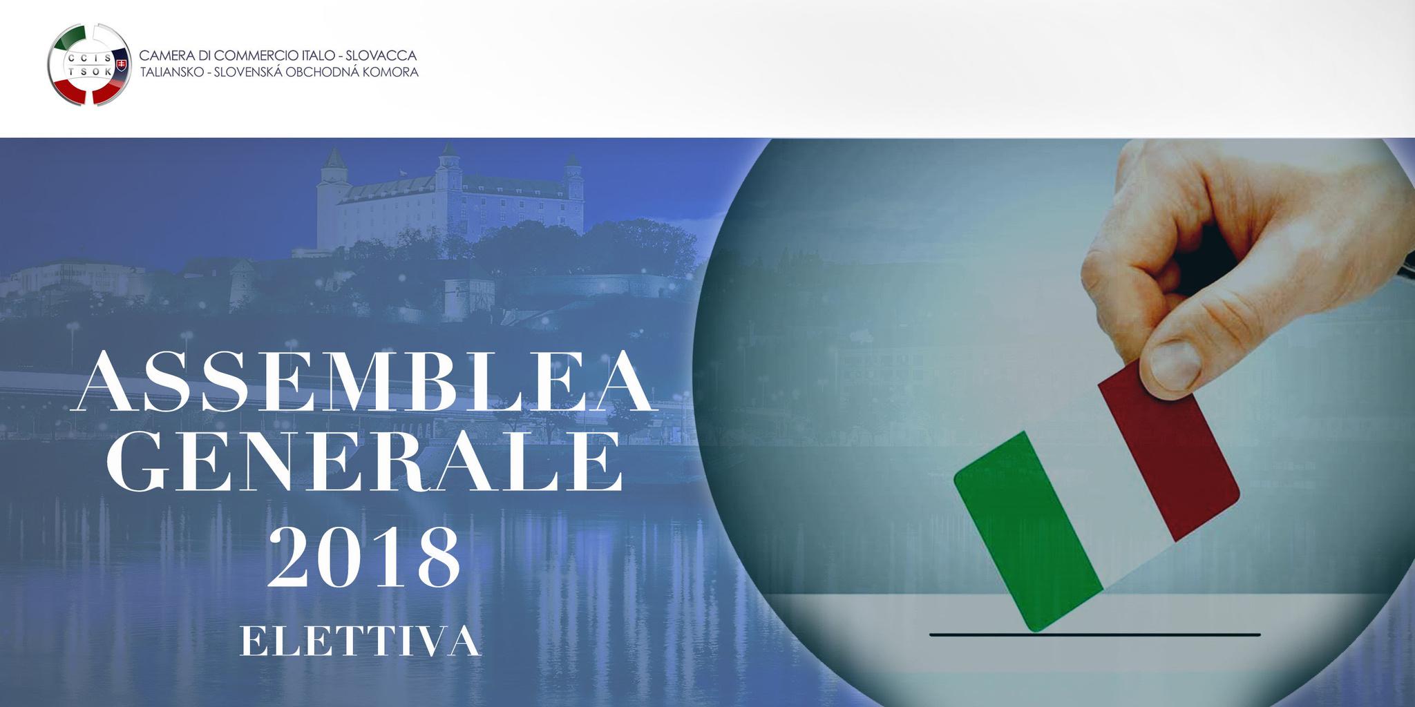 Informácie o voľbách Camit 2018