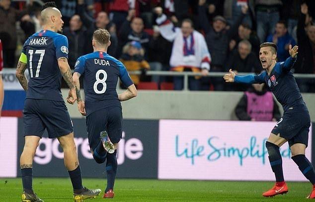Qualificazioni Euro 2020 - la Slovacchia inizia bene: Ungheria KO