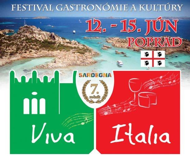 Il 7 ° festival VIVA ITALIA si terrà a Poprad dal 12 al 15 giugno 2019