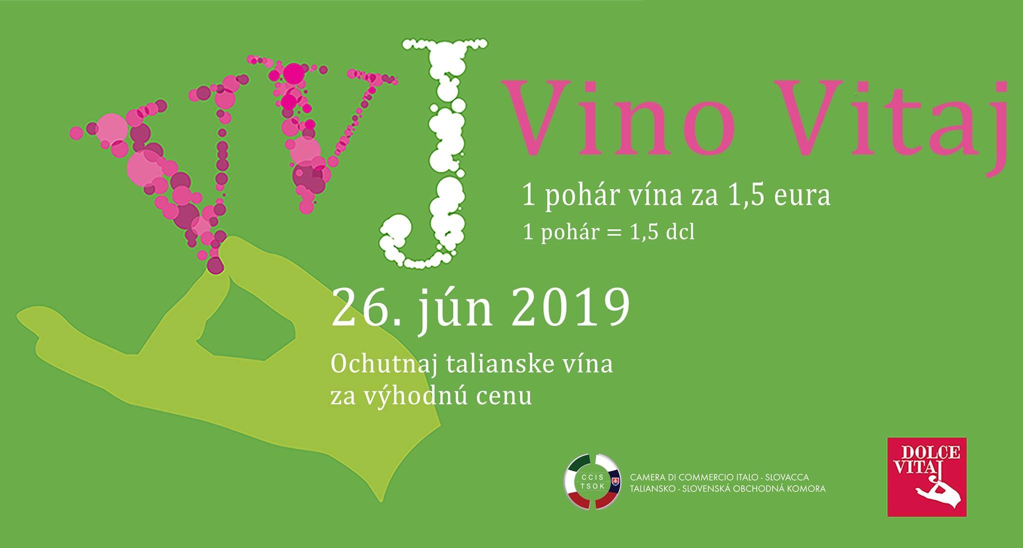 Arriva oggi a Bratislava il festival del vino italiano