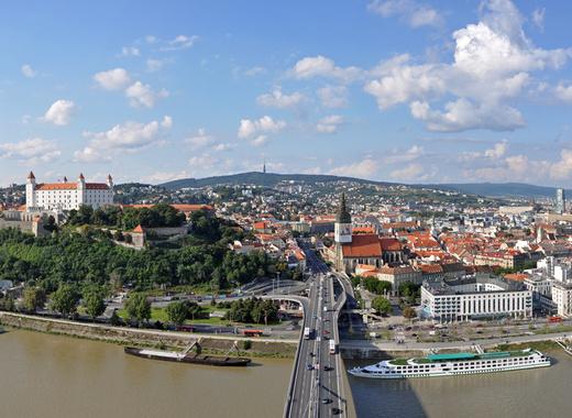 Výstavba Vydrice pod Bratislavským hradom sa začala