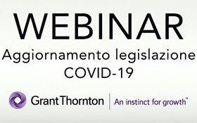 WEBINAR: aggiornamento legislazione COVID-19 - continuazione