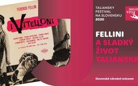Otvorenie výstavy Fellini a sladký život Talianska